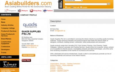 Quads Featured In Asia Builders