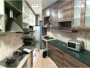 Adhesive Laminates – Hougang Ave 1 HDB Kitchen