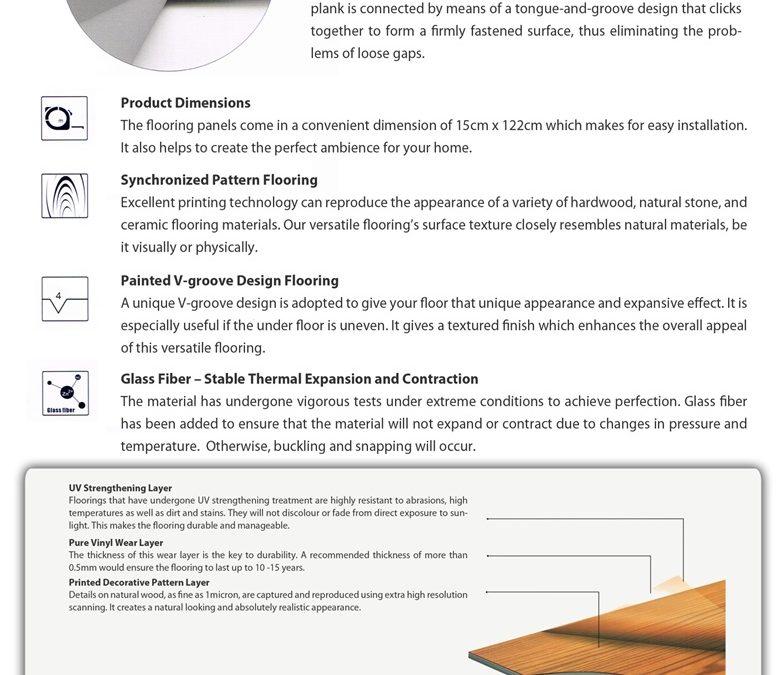 What is Versatile (PVC UniClick) Tiles?