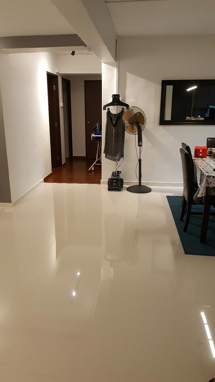 Homogeneous Flooring Bukit Batok East Avenue Quads
