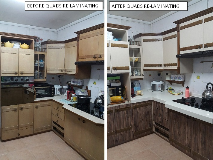 Adhesive Laminate & Renovation-Choa Chu Kang Ave 4