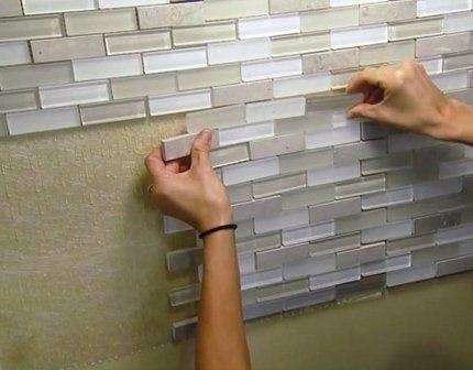 Self Adhesive Tiles (SAT)- Self Stick DIY Video