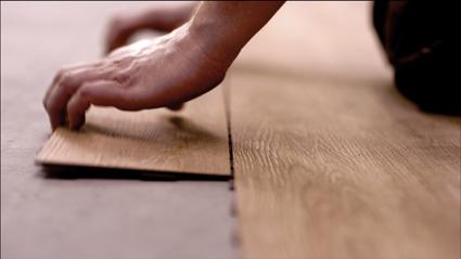 Vinyl vloer houtlook met luxe afwerking vochtbestendig anti slip